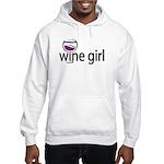 Wine Girl Hooded Sweatshirt