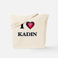I love Kadin Tote Bag