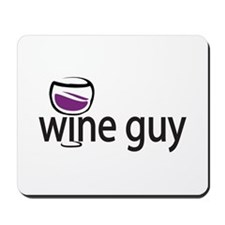 Wine Guy Mousepad