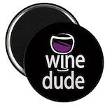 Wine Man Magnet