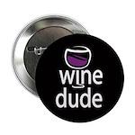 Wine Man Button