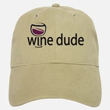 Wine Man Baseball Baseball Cap
