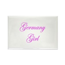 Germany Girl Rectangle Magnet (10 pack)