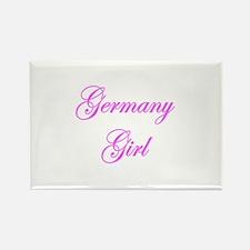 Germany Girl Rectangle Magnet (100 pack)