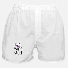 Wine Stud Boxer Shorts
