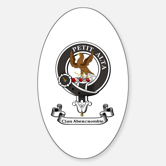 Badge - Abercrombie Sticker (Oval)