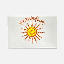 Frankfurt, Germany Rectangle Magnet (100 pack)