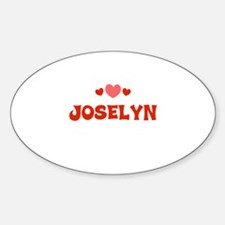 Joselyn Oval Decal