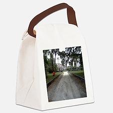 Cute Island Canvas Lunch Bag