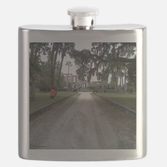 Unique Island Flask
