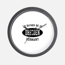 I'd Rather Be in Dresden, Ger Wall Clock
