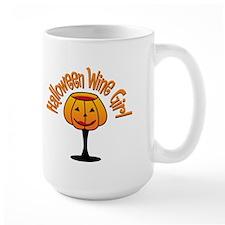 Halloween Wine Girl Mug