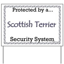 Scotty Security Yard Sign