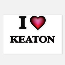 I love Keaton Postcards (Package of 8)