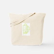 Talk dirty me Tote Bag