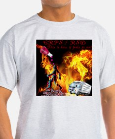 CRPS RSD This is how it Feels to Me Acid R T-Shirt