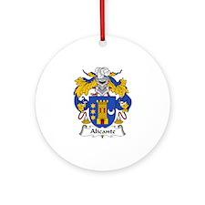 Alicante Ornament (Round)