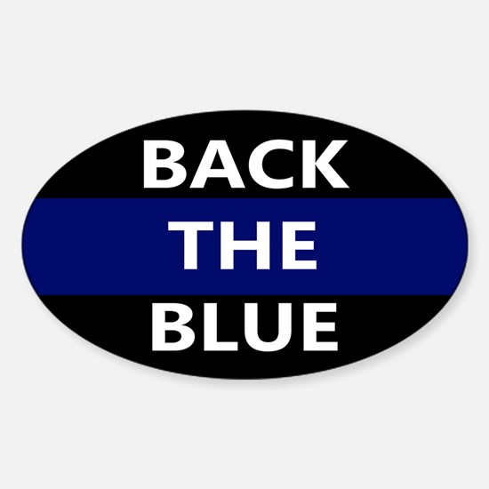 BACK THE BLUE Decal