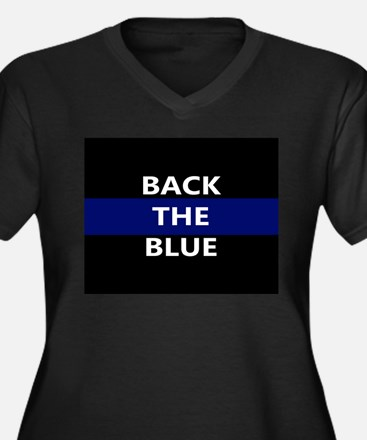 BACK THE BLUE Plus Size T-Shirt
