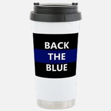 BACK THE BLUE Stainless Steel Travel Mug