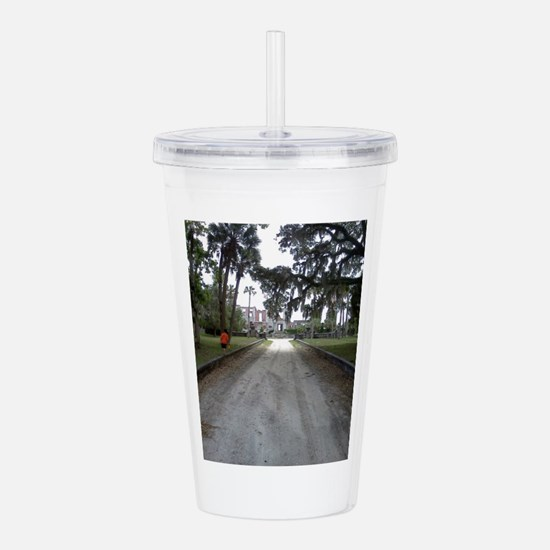 Road to Dungeness Acrylic Double-wall Tumbler