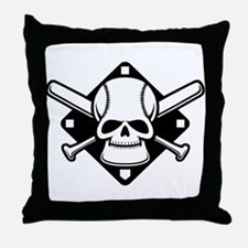 Baseball Buccaneer Throw Pillow