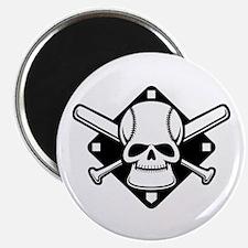 "Baseball Buccaneer 2.25"" Magnet (100 pack)"