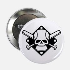 "Baseball Buccaneer 2.25"" Button"
