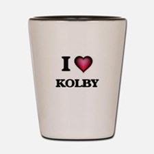 I love Kolby Shot Glass