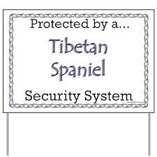 Tibbie Security Yard Sign
