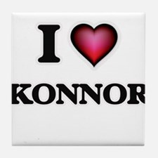 I love Konnor Tile Coaster