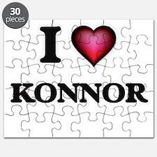 I love Konnor Puzzle