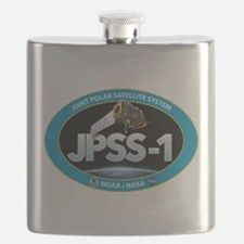 JPSS-1 Logo Flask