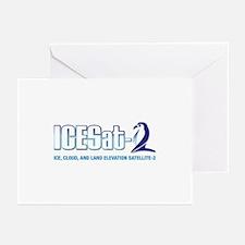 ICESat-2 Logo Greeting Cards (Pk of 10)