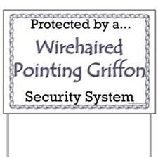 WPG Security Yard Sign