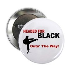 "Outa' The Way! 2.25"" Button"