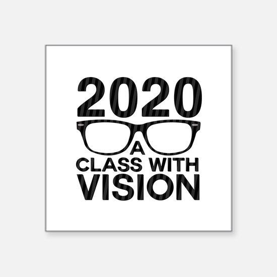 2020 Class with Vision Sticker