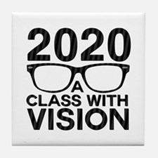 2020 Class with Vision Tile Coaster
