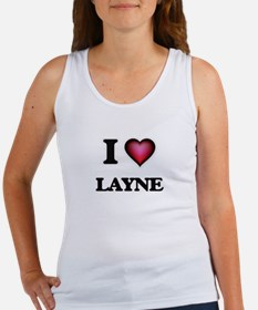 I love Layne Tank Top
