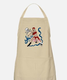 Pirate Pin-Up BBQ Apron