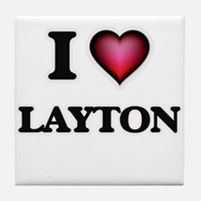 I love Layton Tile Coaster