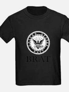 Navy Bra T-Shirt
