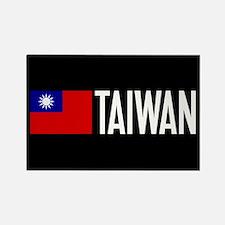 Taiwan: Taiwanese Flag & Taiwan Rectangle Magnet
