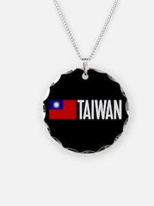 Taiwan: Taiwanese Flag & Tai Necklace