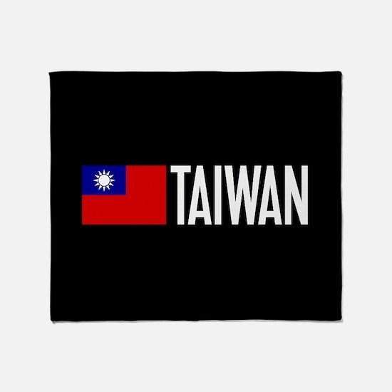 Taiwan: Taiwanese Flag & Taiwan Throw Blanket
