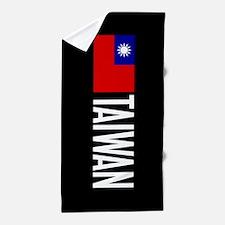 Taiwan: Taiwanese Flag & Taiwan Beach Towel