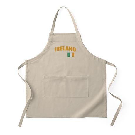 Vintage Ireland Soccer BBQ Apron