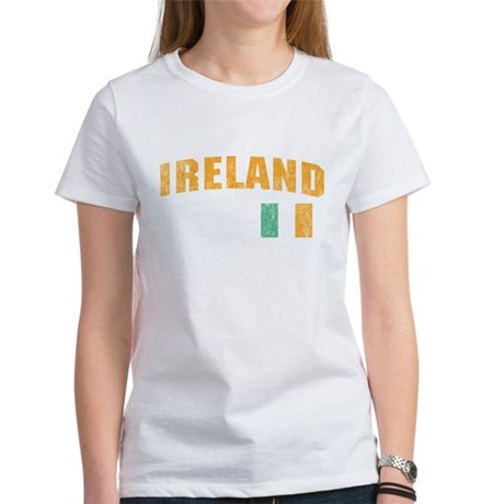 Vintage Ireland Soccer Women's T-Shirt
