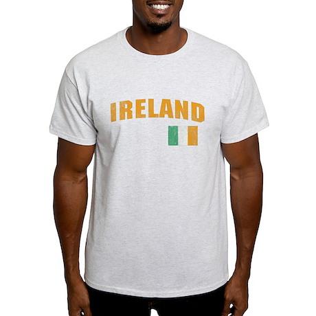 Vintage Ireland Soccer Light T-Shirt