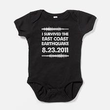 EARTHQUAKEw.png Baby Bodysuit